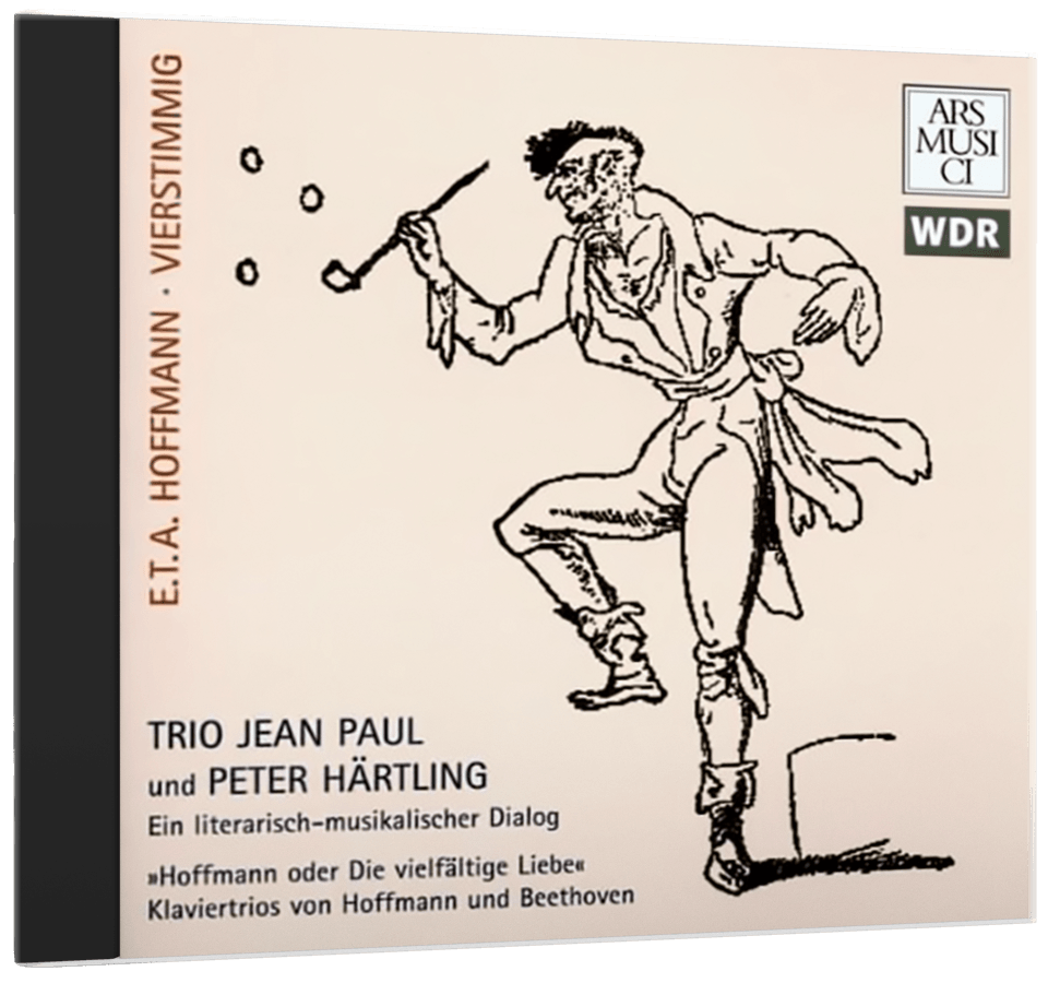 Cover of Trio Jean Paul and Peter Härtling