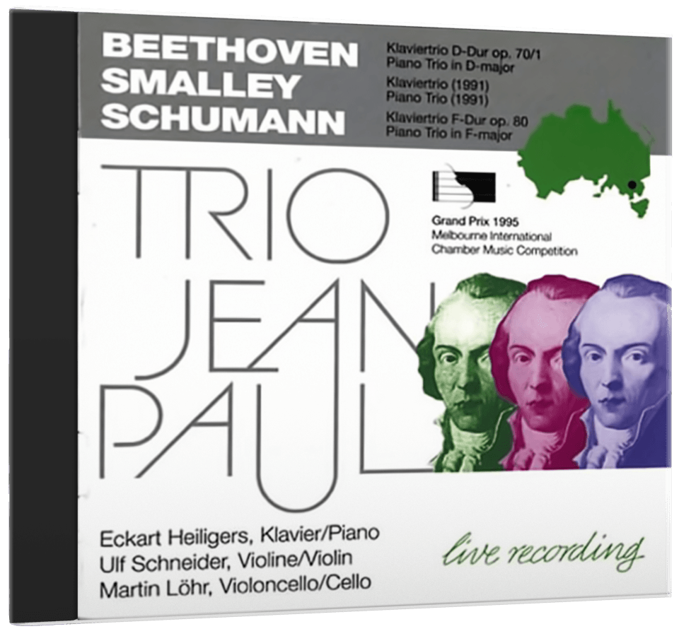 "Cover von Trio Jean Pauls ""Trio Jean Paul: Beethoven, Smalley, Schumann"""