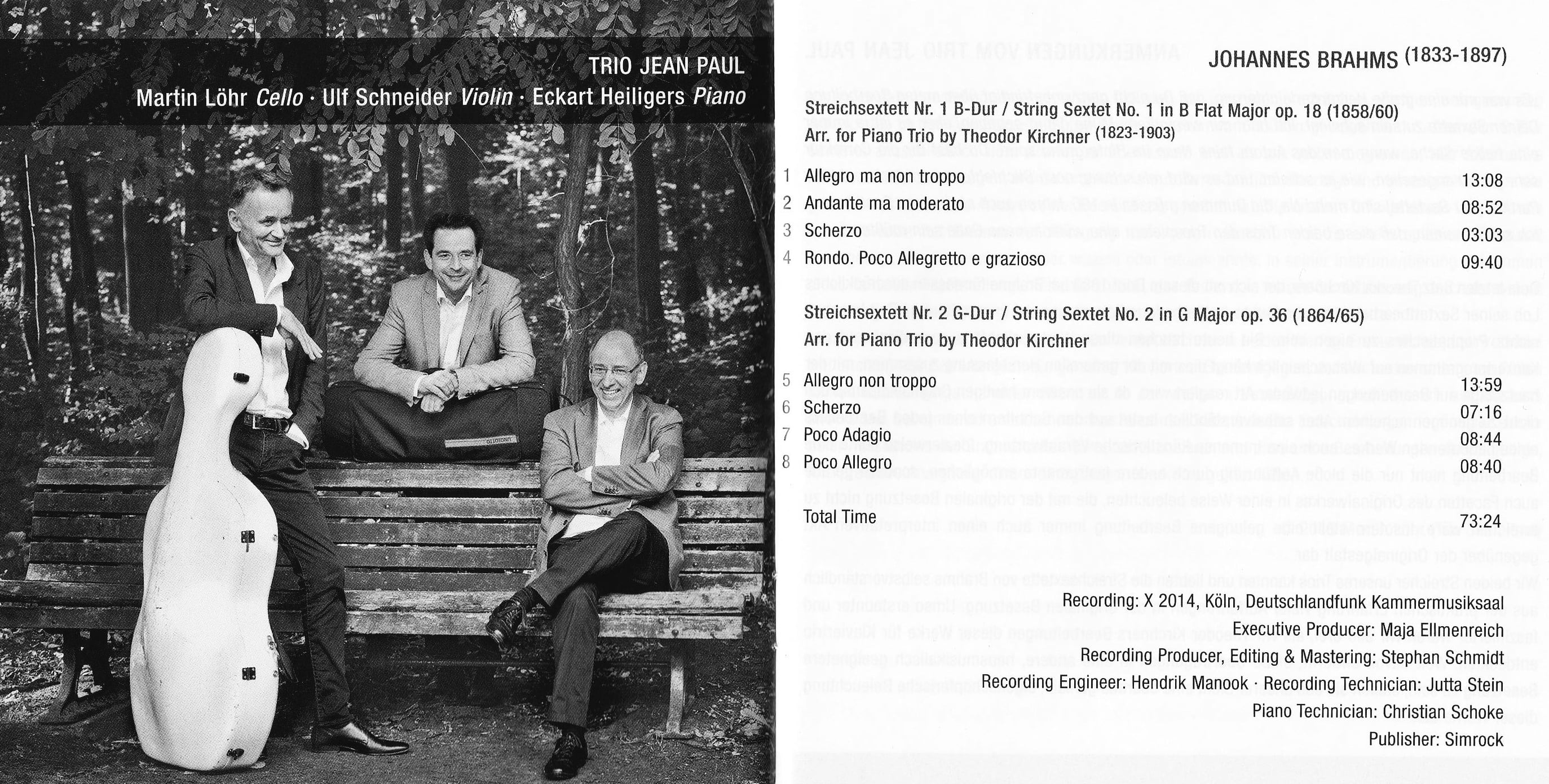 trio jean paul brahms inlay